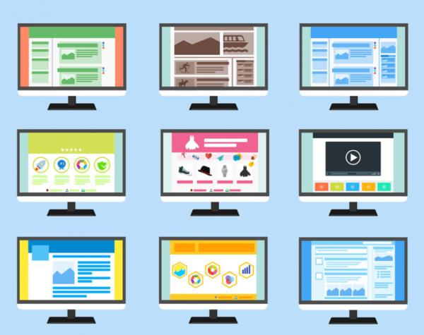 в целом, сайты создаются по схожему алгоритму, но на данный момент можно выделить несколько их разновидностей