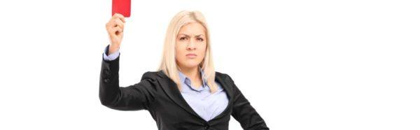невыполнение должностных обязанностей приводит к лишению премии