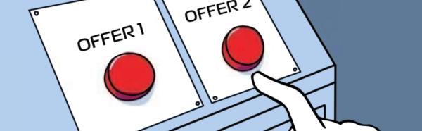 выбор лучшего предложения всегда сложный, но важно завлечь ЦА и тогда клиентам будет проще определиться
