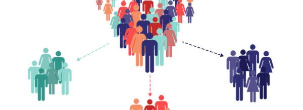 при помощи сегментации можно без проблем распределить группы населения по интересам и предпочтениям