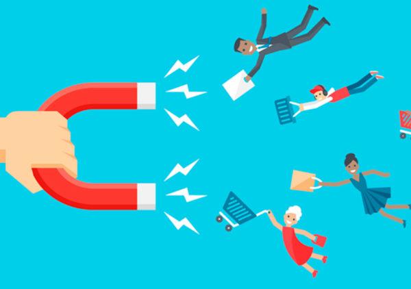 клиентская база выступает в роли магнита, ведь можно проанализировать интересы ЦА и провести правильную работу по отношению к ней